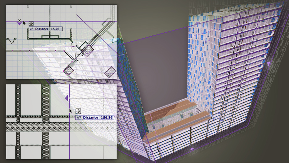 ArchiCAD Real-Time 3D Cutting Planes