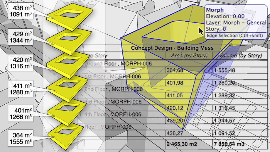 ArchiCAD Improved MORPH® Tool