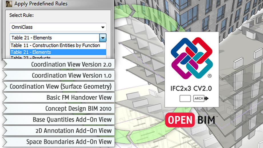 ArchiCAD IFC Support