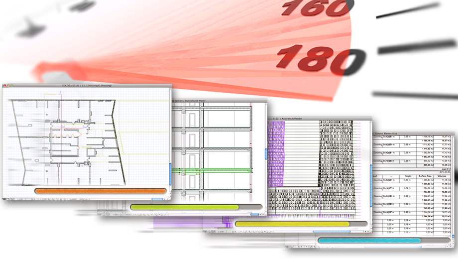 ArchiCAD Enhanced Performance on Complex Models