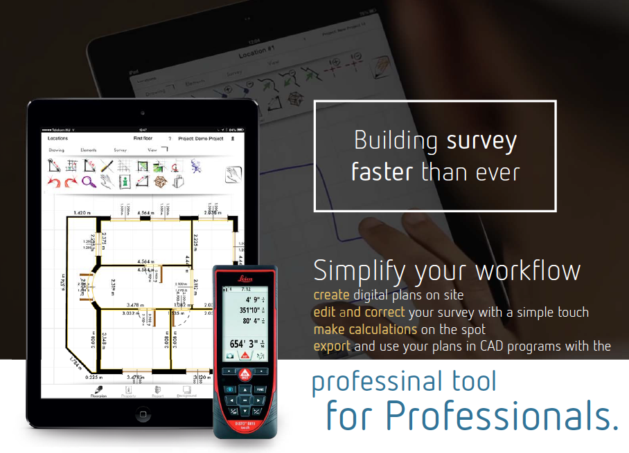 ORTHOGRAPH | BUILDING SURVEY APP | iOS | Android | BEST APP OF THE YEAR 2014 | MOST INNOVATIVE PRODUCT OF THE YEAR 2014 | SIMPLIFY YOUR WORKFLOW