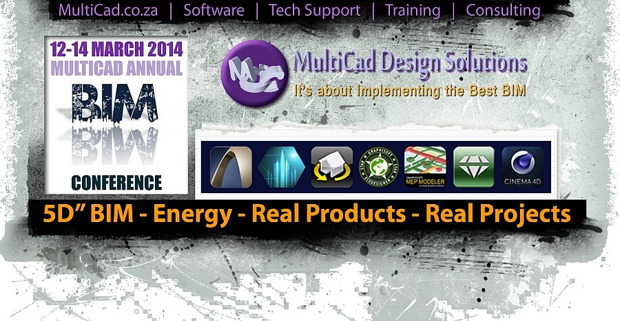 MultiCad | MultiBIM | 2014 BIM Conference Event | South Africa
